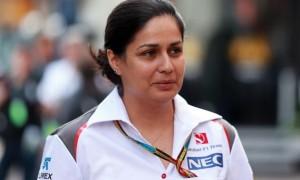 Monisha Kaltenborn Sauber F1 Team Principal