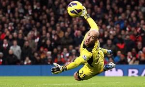 Pepe Reina Liverpool goalkeeper