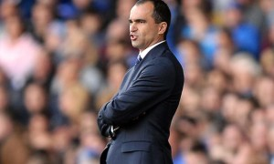Roberto Martinez Everton v Arsenal