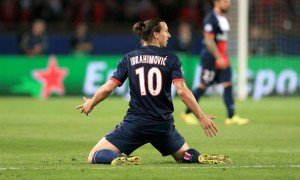 Zlatan Ibrahimovic Paris Saint Germain