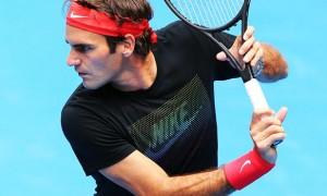 Roger Federer ahead of IPTL