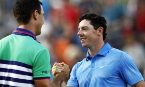 Rory McIlroy and Billy Horschel Tour Championship