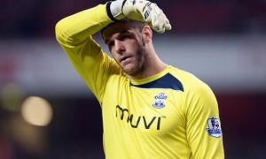 Fraser Forster Southampton goalkeeper