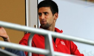 Novak Djokovic ahead of China Open