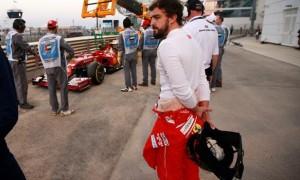 Fernando Alonso Ferrari F1