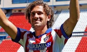 Atletico Madrid striker Alessio Cerci