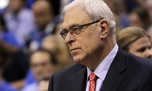 New York Knicks team president Phil Jackson NBA