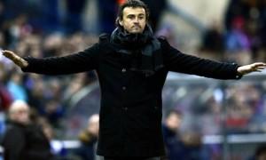 Barcelona boss Luis Enrique