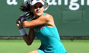Agnieszka Radwanska v Heather Watson Paribas Open