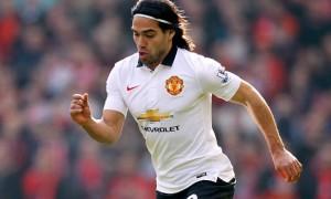 Man United striker Radamel Falcao