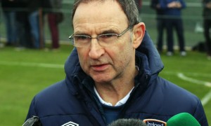 Martin O'Neill Republic of Ireland boss