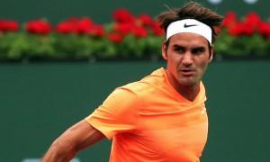 Roger Federer Paribas Open 2015