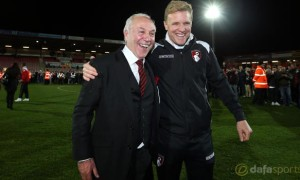 Bournemouth-manager-Eddie-Howe-and-Chairman-Jeff-Mostyn