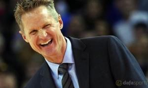Golden State Warriors coach Steve Kerr NBA Basketball