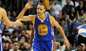 Golden State Warriors star Stephen Curry NBA