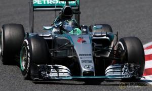 F1 Mercedes Nico Rosberg Spanish Grand Prix