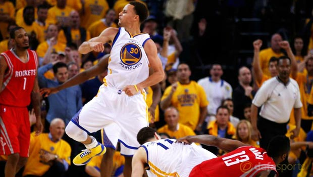 NBA: Golden State Warriors move clear of Houston Rockets ...