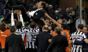 Juventus coach Massimiliano Allegri Serie A