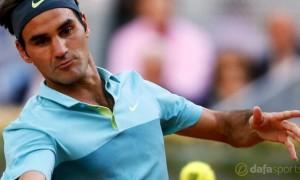 Roger Federer Madrid Masters