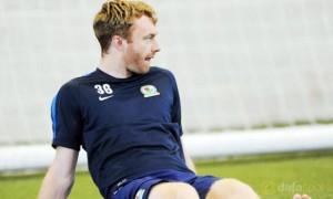 Blackburn Rovers midfielder Chris Taylor