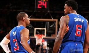 DeAndre Jordan and Chris Paul LA Clippers NBA