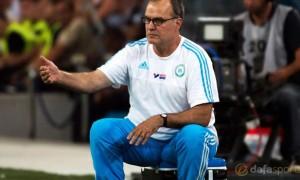Marseille Manager Marcelo Bielsa
