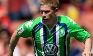 Wolfsburg winger Kevin De Bruyne