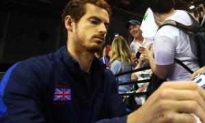 Andy Murray Davis Cup 2015 Tennis