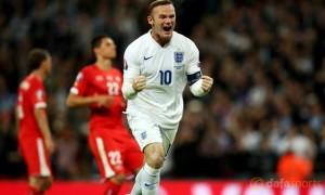 England Wayne Rooney 50th goal Euro 2016