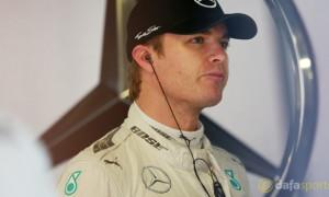 F1 Mercedes Nico Rosberg