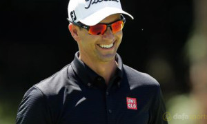 Australian Open Adam Scott
