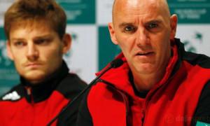 Belgium team captain Johan Van Herck Davis Cup Final