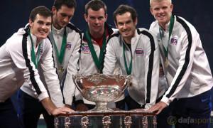 Great Britain wins Davis Cup final 2015