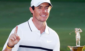 Rory McIlroy European Tour Golfer of the Month