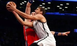 washington wizards v brooklyn nets NBA