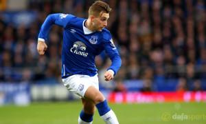Everton Gerard Deulofeu Capital One Cup
