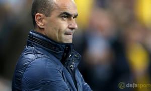 Roberto Martinez Everton boss Capital One Cup