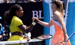 Serena Williams v Maria Sharapova Australian Open