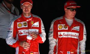Ferrari Sebastian Vettel and Kimi Raikkonen