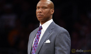 Los Lakers Lakers Coach Byron Scott NBA