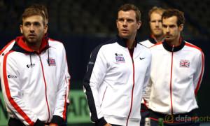 Great Britain Davis Cup captain Leon Smith