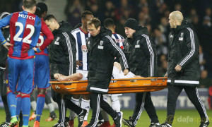 West Bromwich Albion Chris Brunt Injury Euro 2016