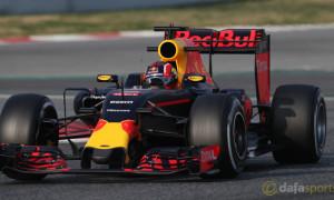 Red Bull Daniil Kvyat F1