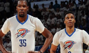 Kevin Durant and Russe Westbrook Oklahoma City