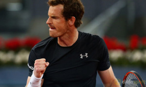Madrid Open Andy Murray