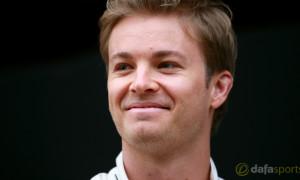 Mercedes F1 Nico Rosberg
