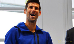 Novak Djokovic ahead of French Open