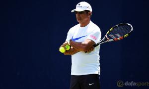 Rafael Nadal coach and uncle Toni Nadal Madrid Masters