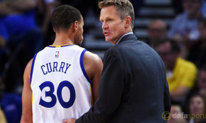 Golden State Warriors coach Steve Kerr NBA Finals