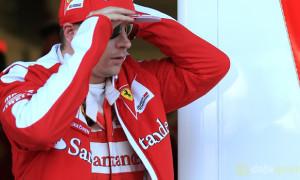 Kimi Raikkonen Ferrari Hungarian Grand Prix